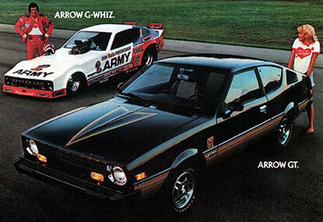 Plymouth Arrow G-Whiz Ad