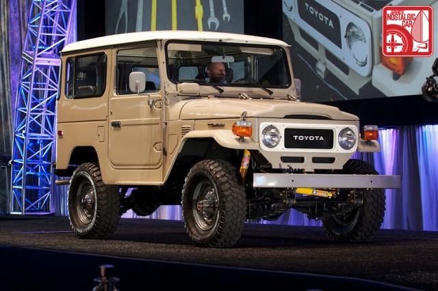 FJ40 Toyota Land Cruiser Gooding Auction