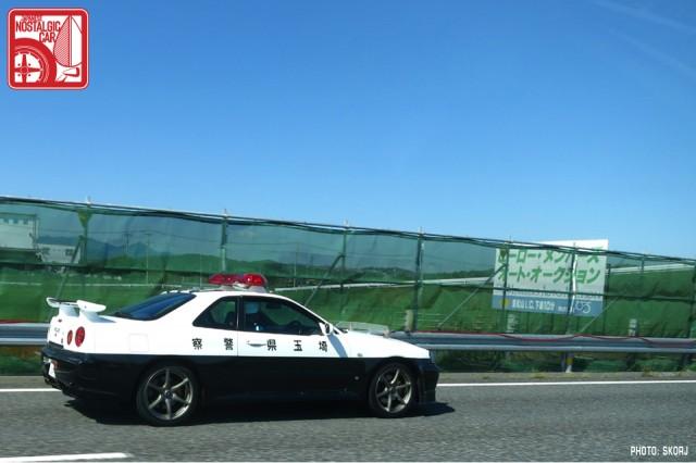 Usui_Touge02-Nissan_Skyline_GTR_R34_police_car