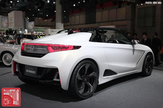 Honda S660 rear