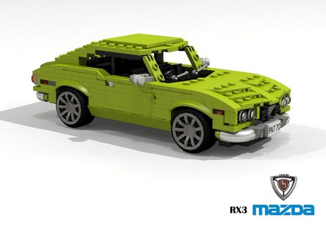 Lego Mazda RX-3