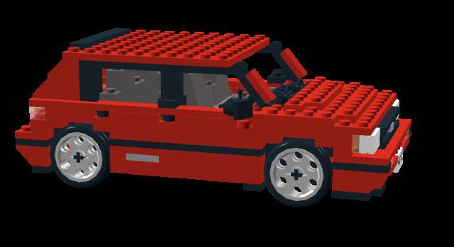 Lego Toyota Corolla AE82 FX16