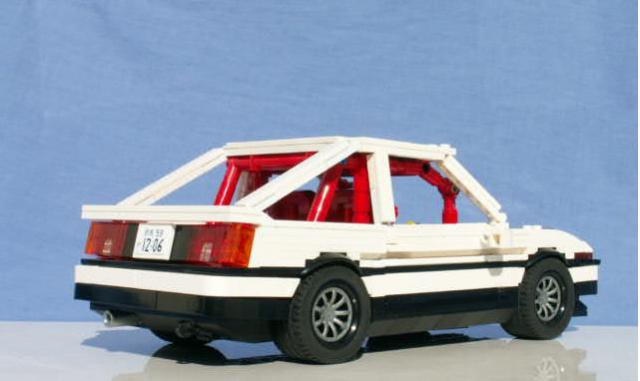 Lego Toyota Corolla AE86