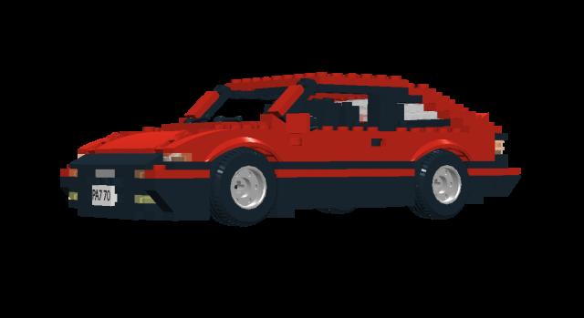 Lego Toyota Corolla AE86 Trueno
