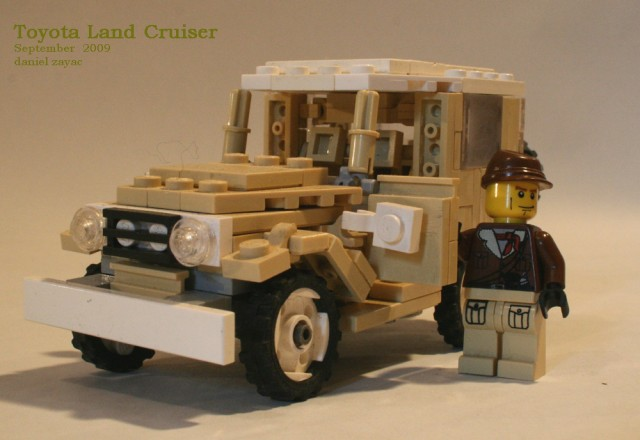 Lego Toyota FJ40 Land Cruiser