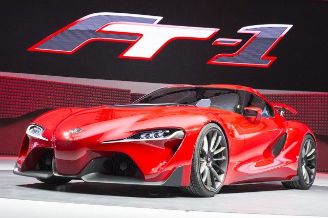 Toyota FT-1 concept reveal