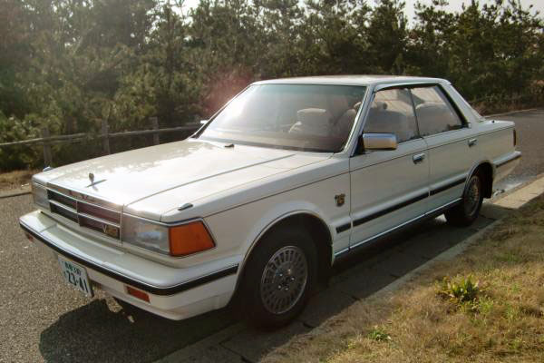 1984 Nissan Gloria Turbo Brougham VIP Super Selection Ⅱ front
