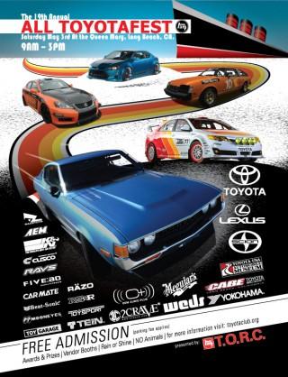 2014 Toyotafest flyer