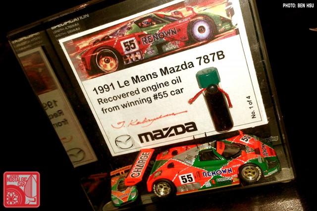 Mazda 787B oil