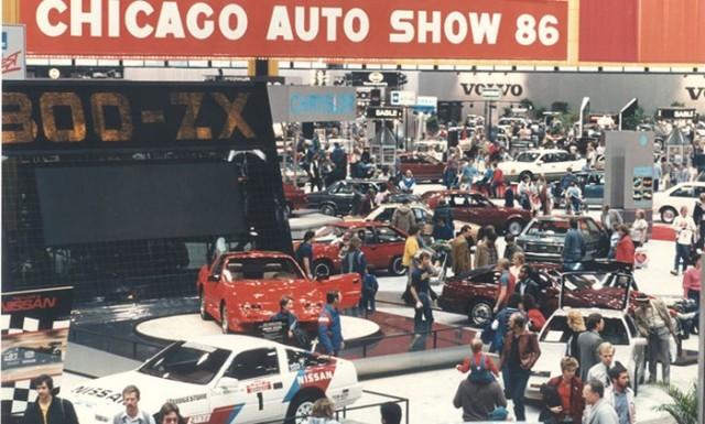 1986 Chicago Auto Show Nissan