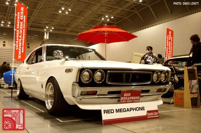 389-DL0683_Red Megaphone Nissan Laurel C130
