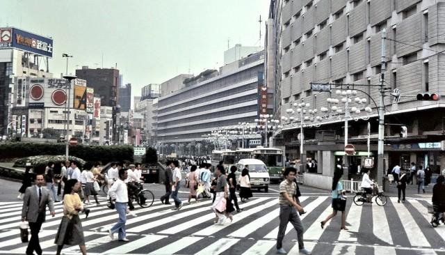 Ikebukuro 1983-85