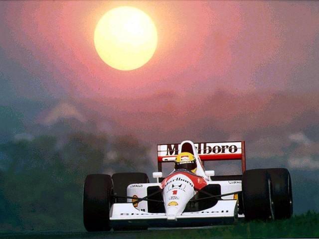 McLaren Honda Ayrton Senna