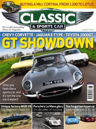 Classic & Sports Car Jaguar vs Corvette vs Toyota 2000GT