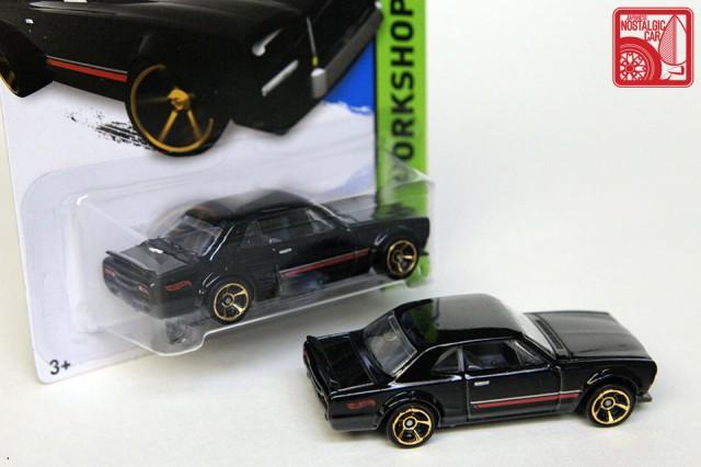 Hot Wheels Then & Now Nissan Skyline hakosuka rollcage
