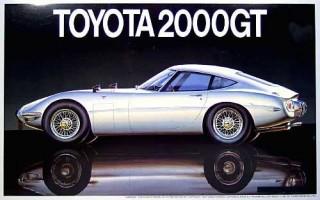 Fujimi Touge Big Car Toyota 2000GT