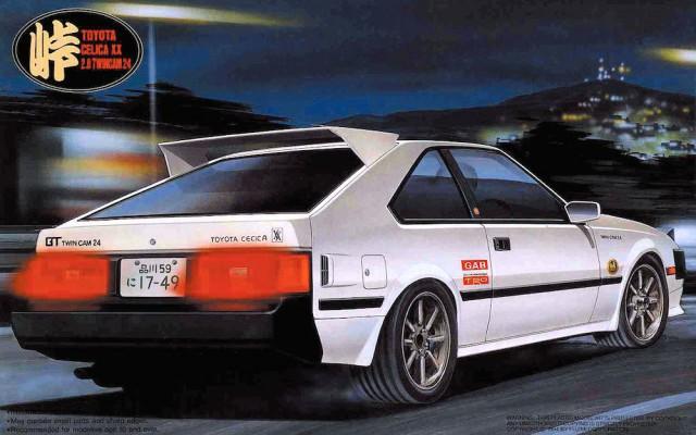 Fujimi Touge Toyota Celica XX