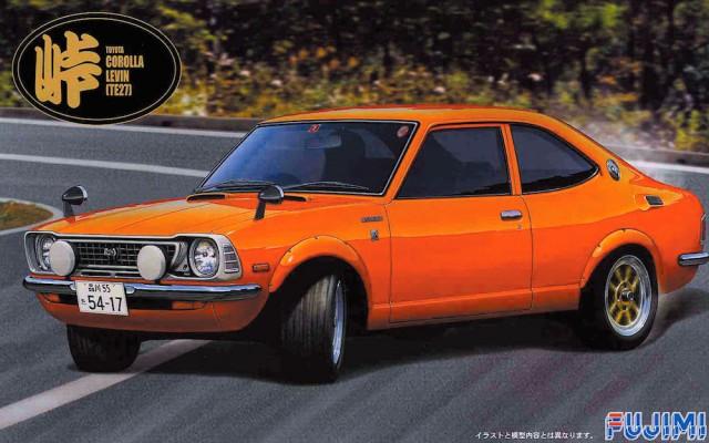 Fujimi Touge Toyota Corolla TE27