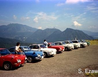 Hino Contessa Hakone Turnpike 1975