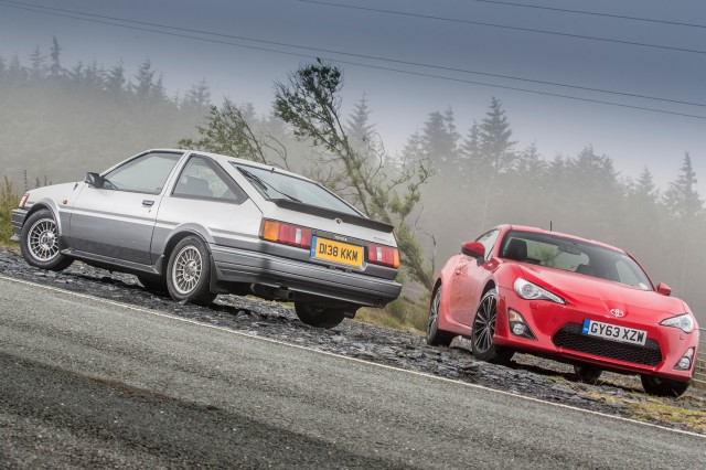 Toyota UK GT86 & AE86