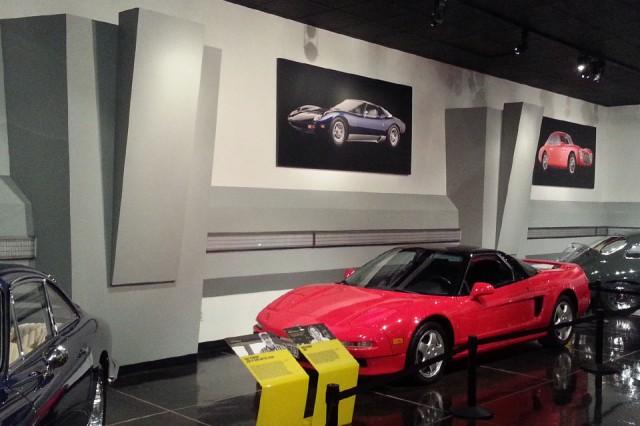 Petersen Museum Acura NSX