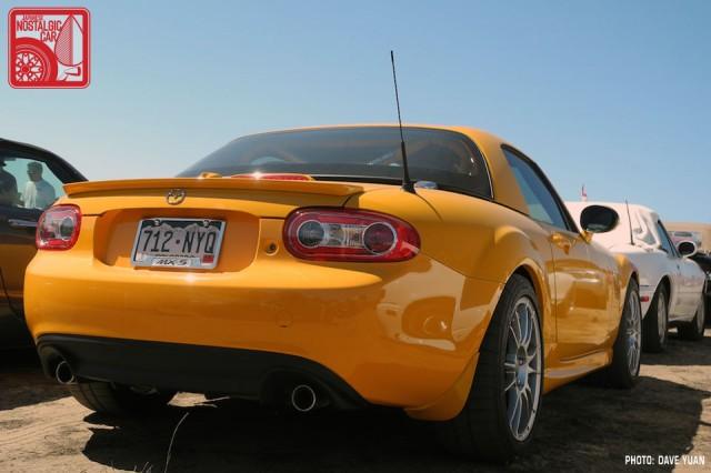 008DY_Mazda MX5 Miata competition yellow
