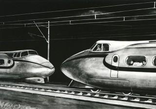 JNR Shinkansen sketch 2