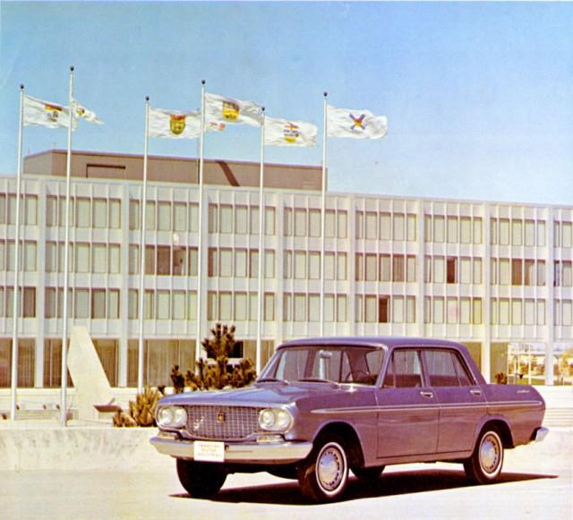 1965 Toyota Crown Canada