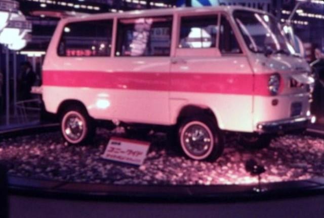 Cony 360 Wide Van AF11 1966