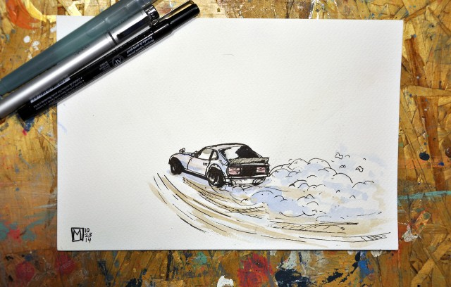 Datsun 240Z by Matt Spangler