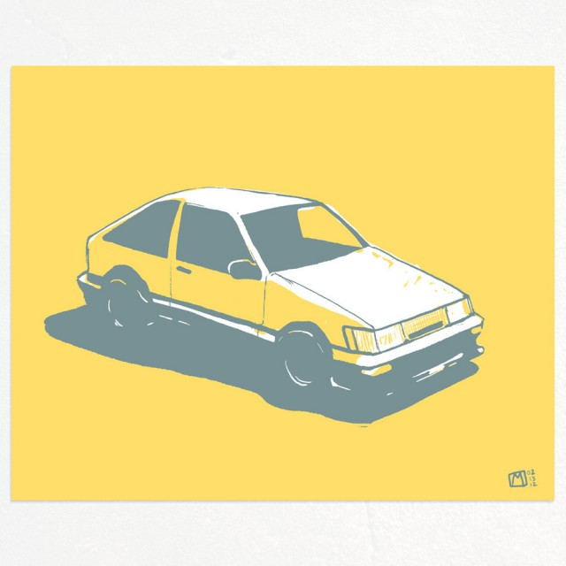 Toyota AE86 Levin by Matt Spangler
