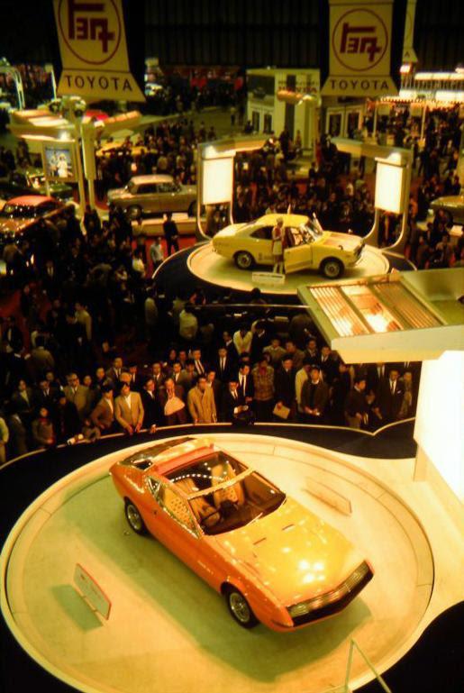 Toyota Tokyo Motor Show 1969