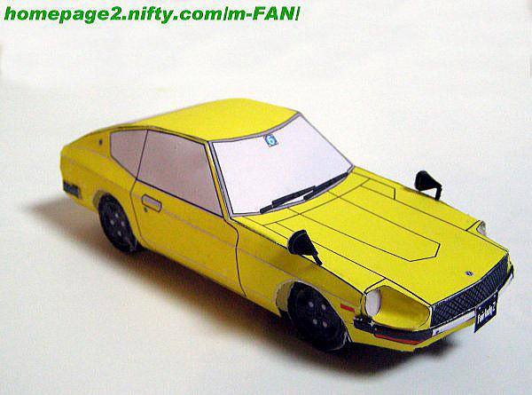 Nissan Fairlady Z432 S30 papercraft