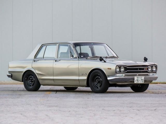 1970 Nissan Skyline GT-R sedan PGC10 01