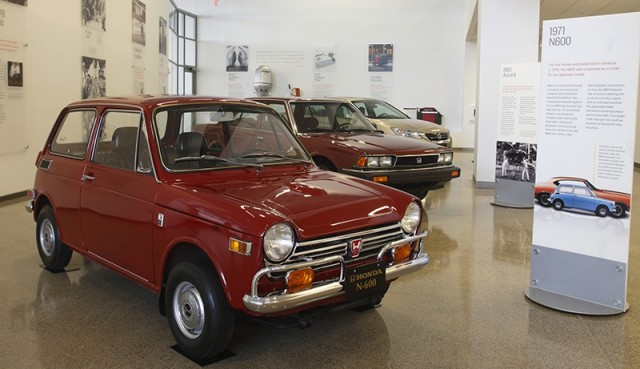 The N600 was the first automobile sold in America