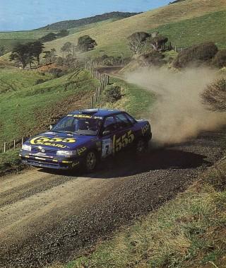 Subaru Legacy Rally New Zealand 1993