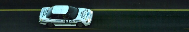 Subaru Legacy speed record