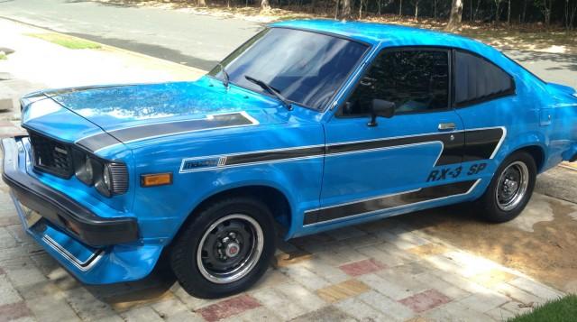 1977 Mazda RX-3 SP blue