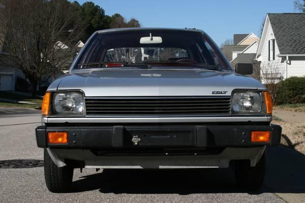 1983 Dodge Colt Twin-Stick Mitsubishi Mirage 05