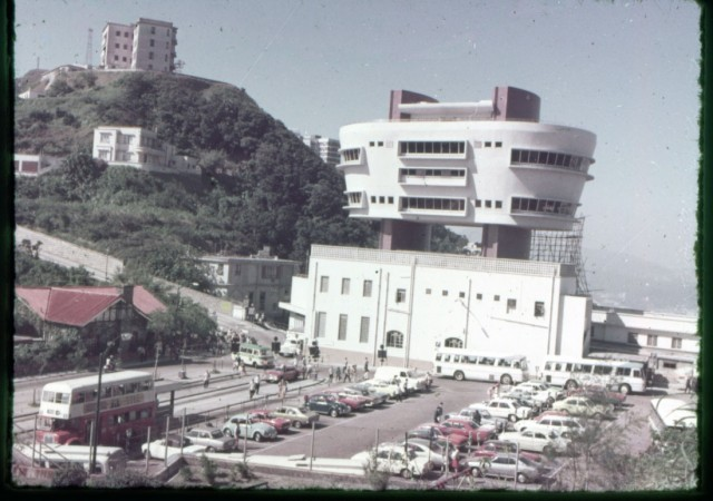 Hong Kong 1975 parking lot