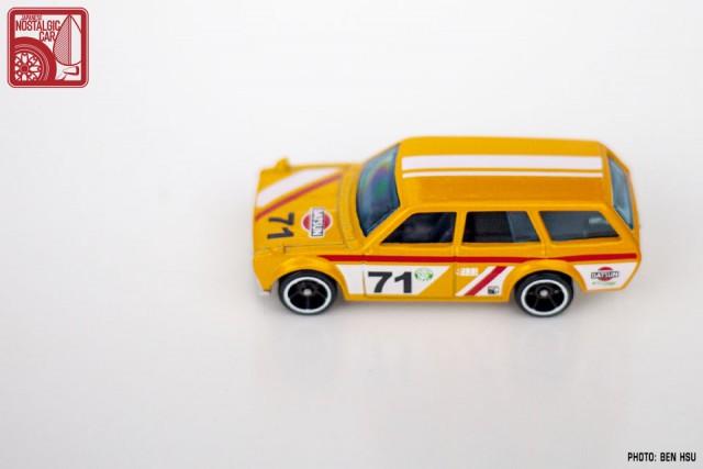 Hot Wheels JNC Datsun 510 Wagon yellow13