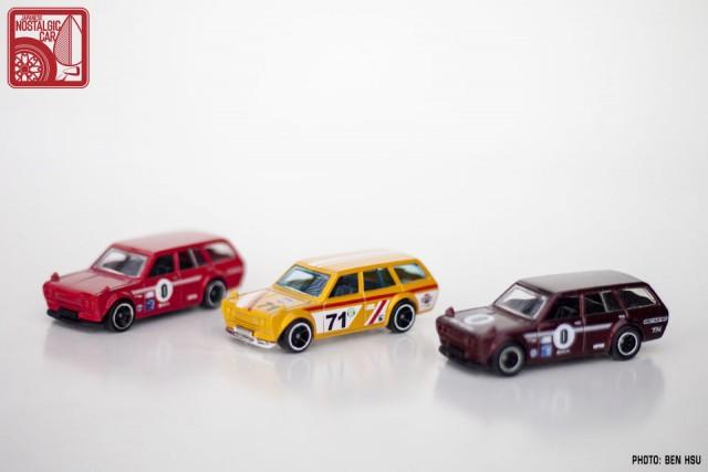 Hot Wheels JNC Datsun 510 Wagon yellow17
