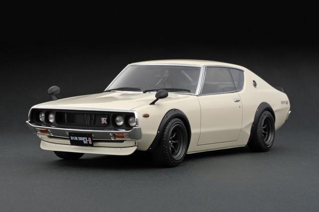 Ignition Models kenmeri Nissan Skyline GT-R KPGC110 front