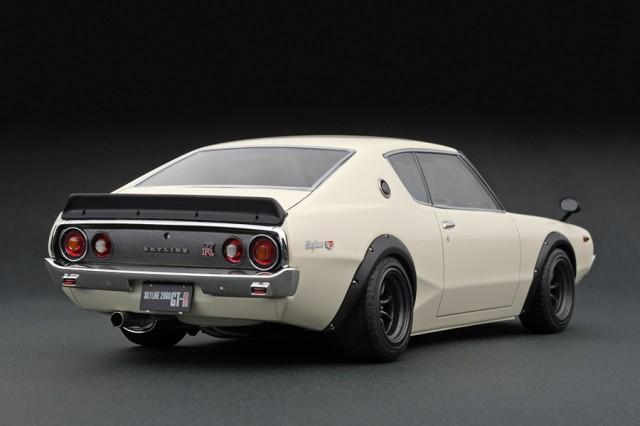 Ignition Models kenmeri Nissan Skyline GT-R KPGC110 rear