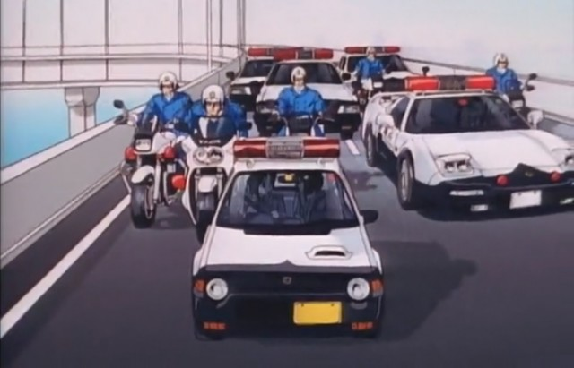 You're Under Arrest - Honda NSX Today police car