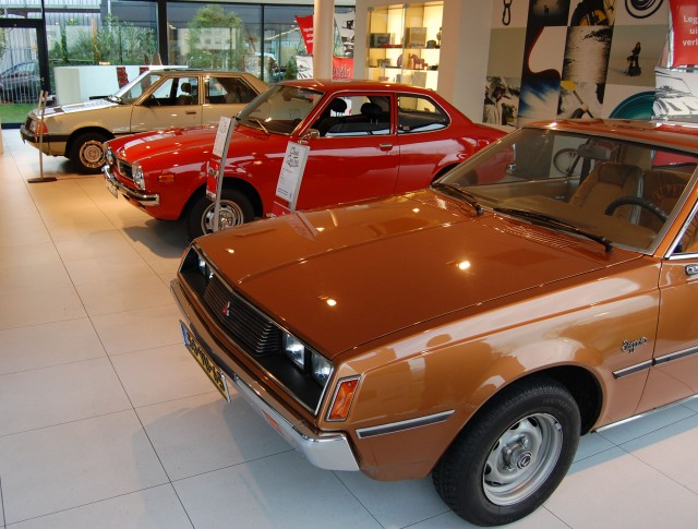 Mitsubishi Netherlands Classic Car Tour 01
