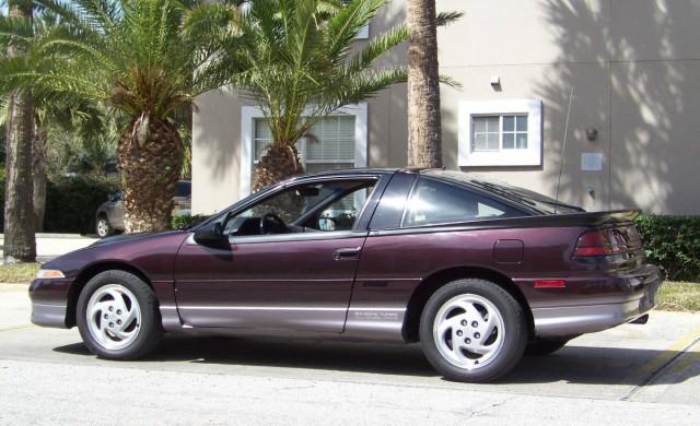 1990 Eagle Talon TSi AWD 01 left side