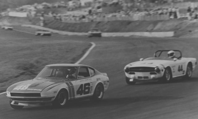 Datsun 240Z BRE 1970 nationals