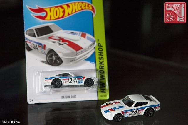 Hot Wheels Datsun 240Z white 2015 JNC 09