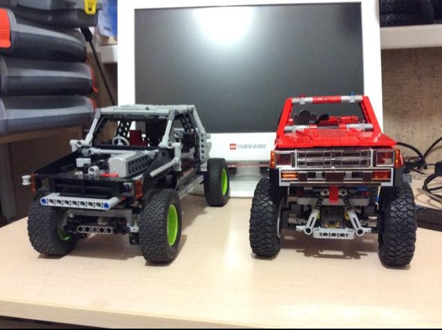 Lego Toyota Hilux 01